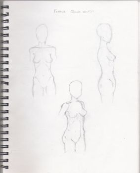 Practise, Poses Female by FollowTheCookie