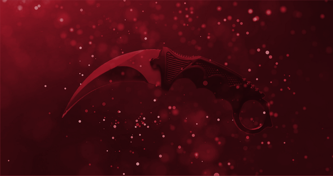 Karambit Wallpaper by FlareXero