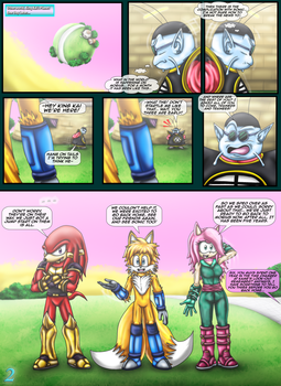 Sonic the Hedgehog Z #16 Pg. 2 May 2018 by CCI545