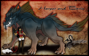 Harper and Boris by Arofexdracona