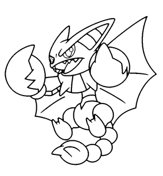 Goodra Coloring Pages