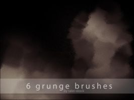 Grunge Brushes 2 by Talei-stock