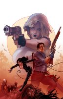 Danger girl Army of Darkness 3 by PaulRenaud