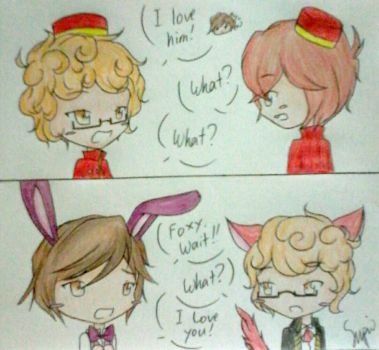 CorLex - I Love Him/You! by Kim-senpai-san
