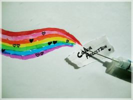 Start of the Rainbow by Red--Roses