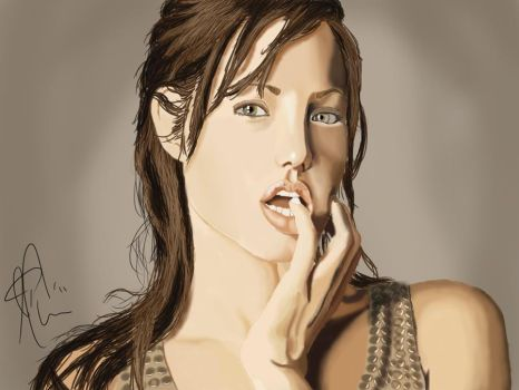 Angelina Jolie by jcurr87