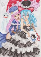 Perona and Juvia Loxar by NeoAngeliqueAbyss