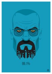 Walter White Vector by funky23