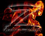 flaming z by zorrospider
