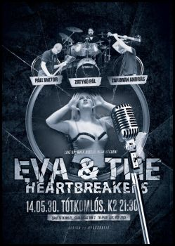 Eva and the Heartbreakers poster by d0ramYrk