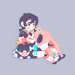 VLD: Keith gets a text by xephia