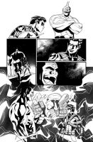 Teen Titans issue 12 page 09 by Azulmelocoton