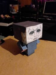 Michael Myers 2018 CubeeCraft by SuperVegeta71290