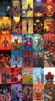 2013: A Year In Covers by quin-ones