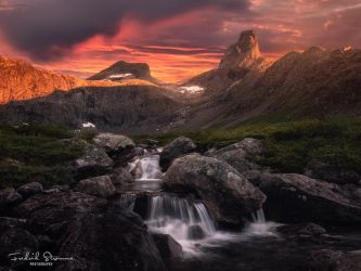 Summer in Vengedalen by streamweb