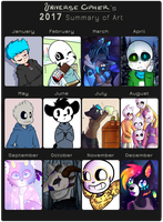 2017 Summary Of Art by UniverseCipher