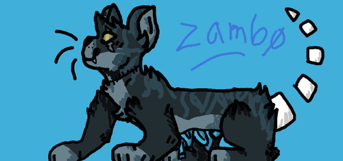 Zambo the halloween cat by Theshinyeevee321