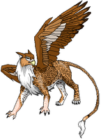 Leopon Griffin Redo by talkingmongoose