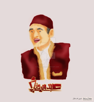 sketching Abdel Raouf by hillllallll