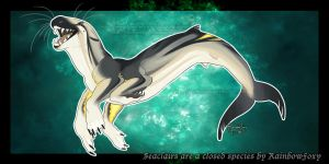 Delfin Seaclair (NauveStar Custom) by Rainbow-Foxy