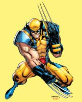 Wolverine collab with Carlo Barberi by bennyfuentes
