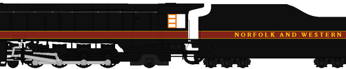 Norfolk and Western K2a by 4501GreenMikado