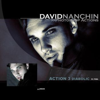 Photoshop Action: Diabolic by davidnanchin