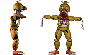Withered Chica v8 | ThrPuppet by PuppetProductions