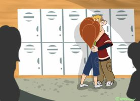 Smooch in the Hallways by KPRS4ever