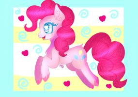 Pinkie pie pranching-YCH by SweetHearts11