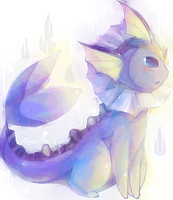 vaporeon. by Effier-sxy