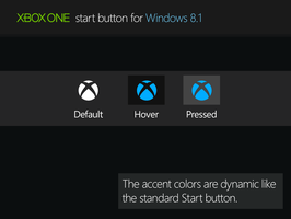 Xbox One Start Button for Windows 8.1 by WyvernZu