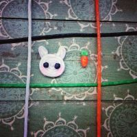 Art craft: bunny and carrot by vt2000