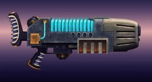 Plasma Gun by Mr-retro-Man