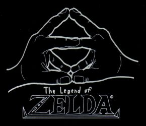Legend of Zelda Shirt Decal by Nintendoart