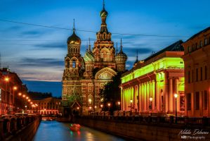 Church of the Savior on Spilled Blood by mydarkeyes