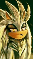 Silver the hedgehog spiky by HydroGothiC