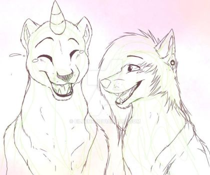 Yay -Sketch by Eileenk