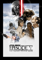 Star Wars Episode V: The Empire Strikes Back by ChristopherOwenArt