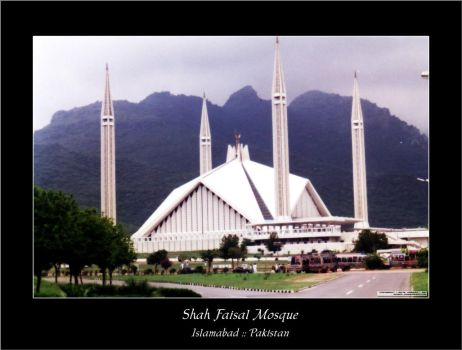 shah faisal mosque by gem24