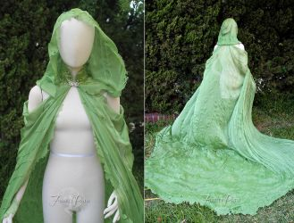 Elven Long Cape by Firefly-Path