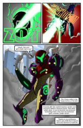 Metroid Comic Page 8 by Dyir