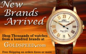New Watch Brands Ad by webgentry