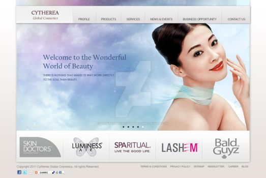 Cytherea Global Cosmetics by LEENTechWebSolutions