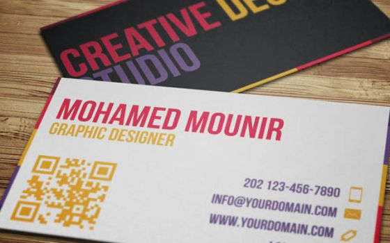 Creative Design Studio Business Card by mmounirf