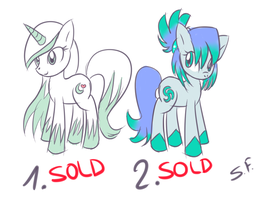 Pony Adoptables 2 by GrowingLight