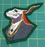 Elias Ainsworth Embroidered Patch by The-Crafty-Kaiju