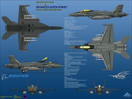 Boeing FA-18I Advanced Super Hornet - Strike Ops by haryopanji