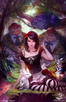 Wonderland 47C cover by JoshBurns
