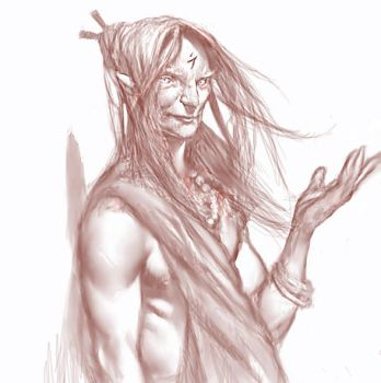Firstborn Monk by Cryptcrawler